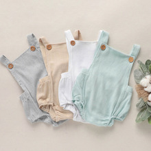 Baby Boys Romper Summer Infant Cotton Unisex Newborn Rompers New Born Baby One-pieces Girls Jumpsuit Baby Boy Clothes Outfit Kid newborn baby rompers 2017 new baby girls boys cotton feather romper clothes kids sleeveless one piece infant jumpsuit for 0 3y