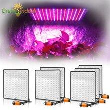 Lampe de croissance ultra mince, 1000W, spectre complet, LED, Led, 225, rouge, bleu, pour tente, végétation, graines de floraison, Led W