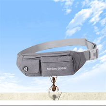 QIUYIN Small Waist Bag  Pouch Genuine Packs Fanny Pack Belt Phone Bags Travel Male