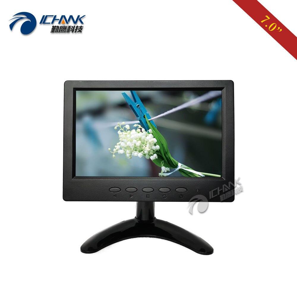 "B070JN-ABHUV/7"" inch 1024x600 720p IPS Screen Built-in Speaker HDMI Monitor 7'' Portable Mini Raspberry Pi 3 PC Monitor Display"