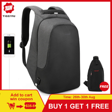 Tigernu brand men women anti theft backpack for 15.6 laptop