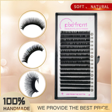 1Tray False Eyelashes, Silk False Mink Lashes Extension,High Quality Eye LashesC/D Curl 8-15mm,individual eye lashes,3D eyelash c d l curl individual lashes high quality 9 15mm 100