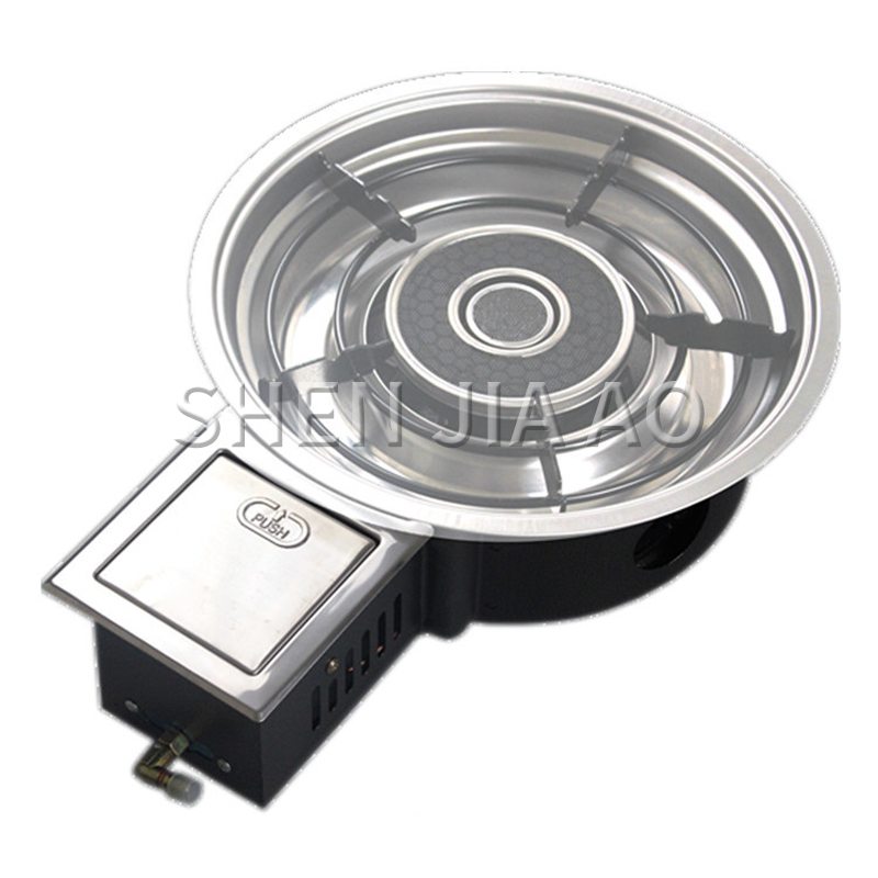 Energy-saving Gas Cooktops Liquefied/natural Gas Korean High-power Infrared Commercial Restaurant Embedded Hot Pot Gas Stove Hot