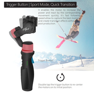 Image 3 - Hohem iSteady Pro 2 Handheld Gimbal Stabilizer for Gopro Hero Splash 3 Axis Estabilizador Celular for SJCAM YI Camera Stabilizer
