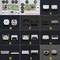 YuXi-placa base de consola para Nintendo NS, pantalla LCD táctil, Cable flexible, Conector de cinta