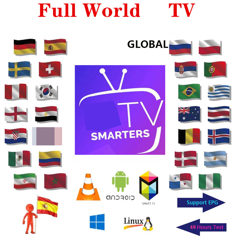 Premium 1P TV TV Spain M3u 1 Year With Global  Italy HD Xxx Europe Arabic Usa Uk For Tv Box Only No Channels Included