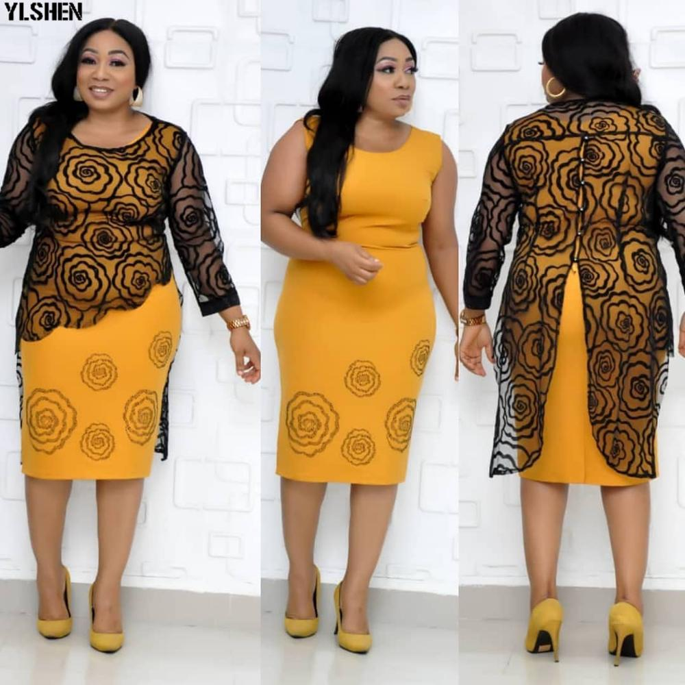 African Dresses For Women Africa Dress African Clothes Print Dashiki Ladies Africa Clothing Plus Size Women Ankara Dresses