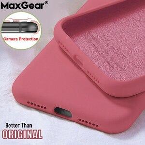Soft Liquid Silicone Case For Xiaomi Mi 10 Lite A3 9T Original Slim Cover Redmi Note 9S 9 S 8T 8 T 7 Pro 9A 8A 7A 10X Protection