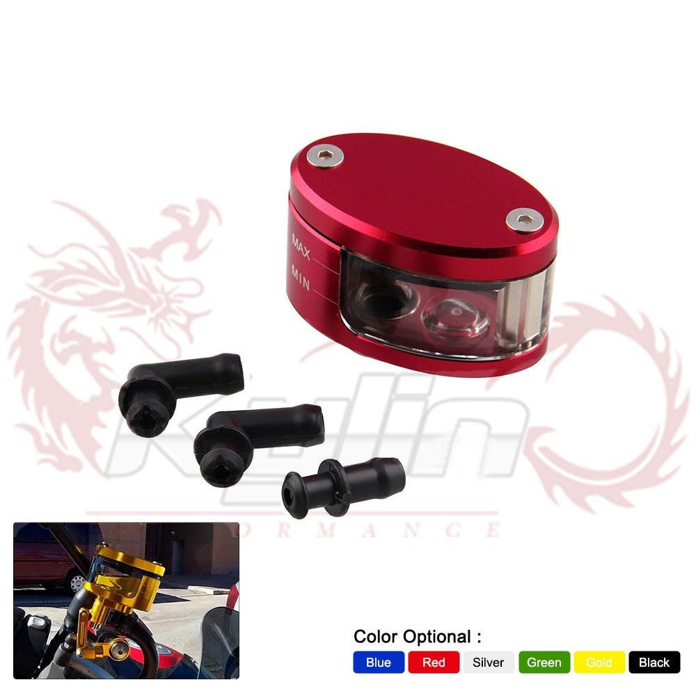 RYANSTAR Universal Motorcycle Brake Clutch Tank Cylinder Fluid Oil Reservoir Cup For Honda Yamaha Ducati Suzuki Kawasaki HC132