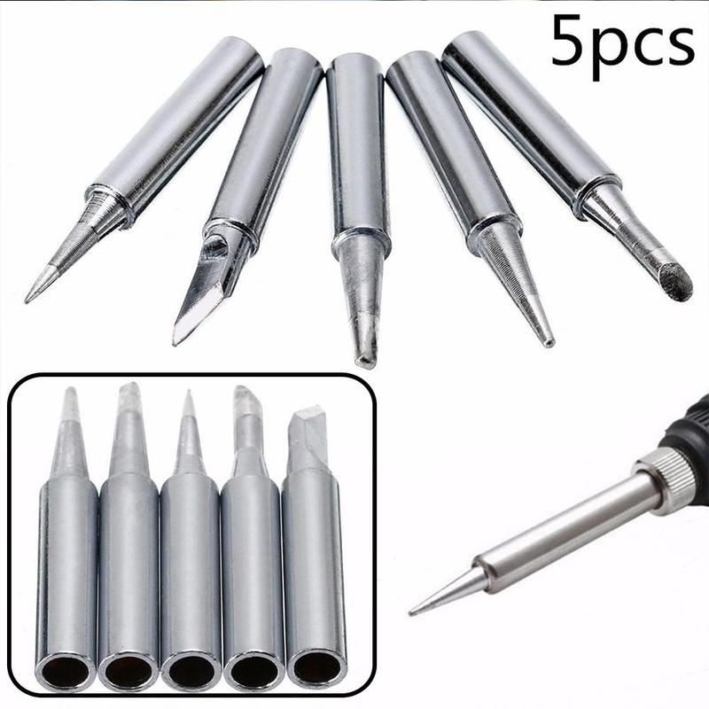 5pcs Environmentally Friendly Lead-free Thermostat Electric Iron Tip Iron Tsui 60w Soldering Iron Head 936 Electric Iron Special