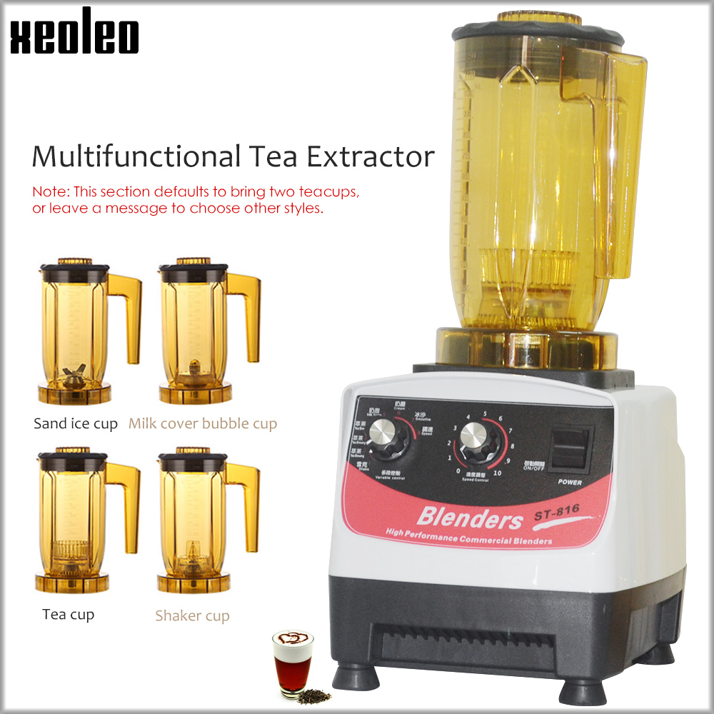 XEOLEO Tea Brewing Machine Bubble Tea Machine 1200ml Multifuction Food Blender 1200W Shaking Machine Smoothie Maker Brew Cream