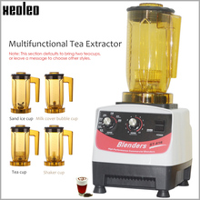 XEOLEO máquina de respiración de té con burbujas, máquina multifunción para batidos y batidos