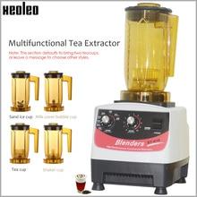 Xeoleo茶breawing機バブル茶teapresso機multifuction食品ブレンダー揺れマシンスムージーメーカー醸造クリーム