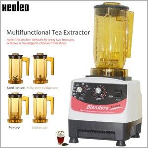 Image 1 - Xeoleo máquina de quebrar chá da bolha máquina de chá teapsso multifuction liquidificador de alimentos máquina de agitação fabricante de smoothie brew creme