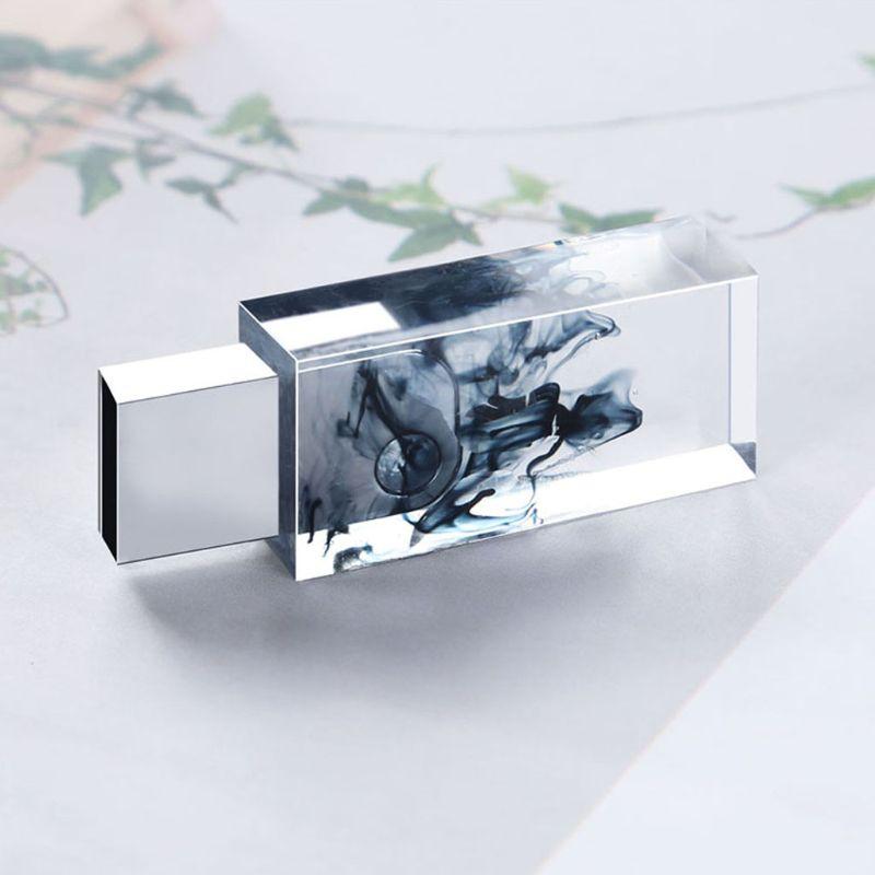 DIY Snow Mountain USB Resin Molds Set With 8G USB Driver Epoxy Resin Art Craft