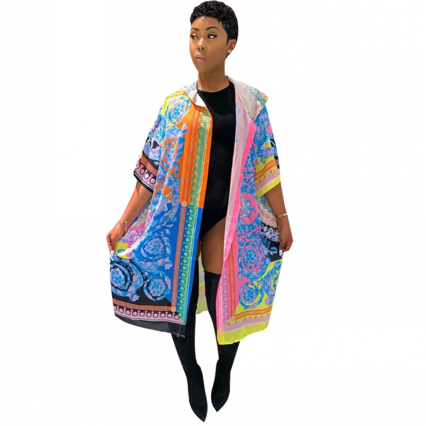 Cardigan African Dresses For Women New Cloak Of The Coat African Riche Bazin Dress For Women Sexy Cardigan Cloak Of The One Coat