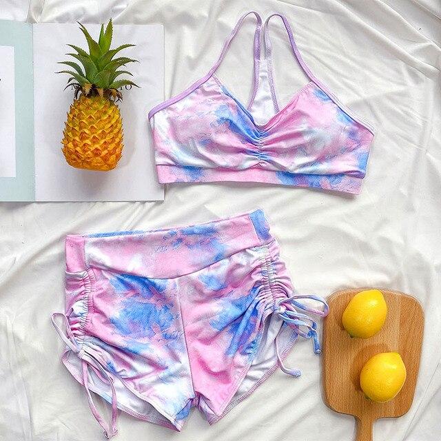 Bikini Set with Shorts