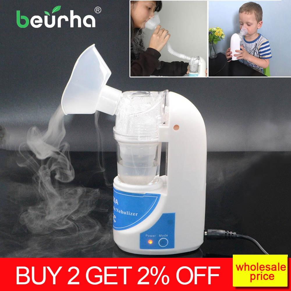 Home Portable Ultrasonic Nebulizer Children Inhalator Adults Atomizer Inhaler Health Medical Asthma Inhalers Inhale Humidifier