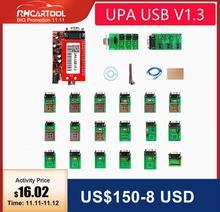 Herramienta de diagnóstico UPA OBD2 ECU programador UPA USB V1.3 con adaptador completo ENC función potente para escáner lector de código de programa
