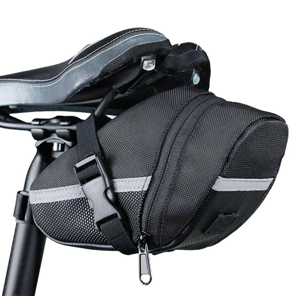 Bicycle Bike Waterproof Storage Saddle Bag Seat Cycling Tail Rear Pouch Seatpost saddle bag Outdoor Bicicleta accessories