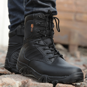 Image 5 - Winter Autumn Men Military Boot Quality Special Force Tactical Desert Combat Ankle Boats Army Work Shoes Leather Snow Boots