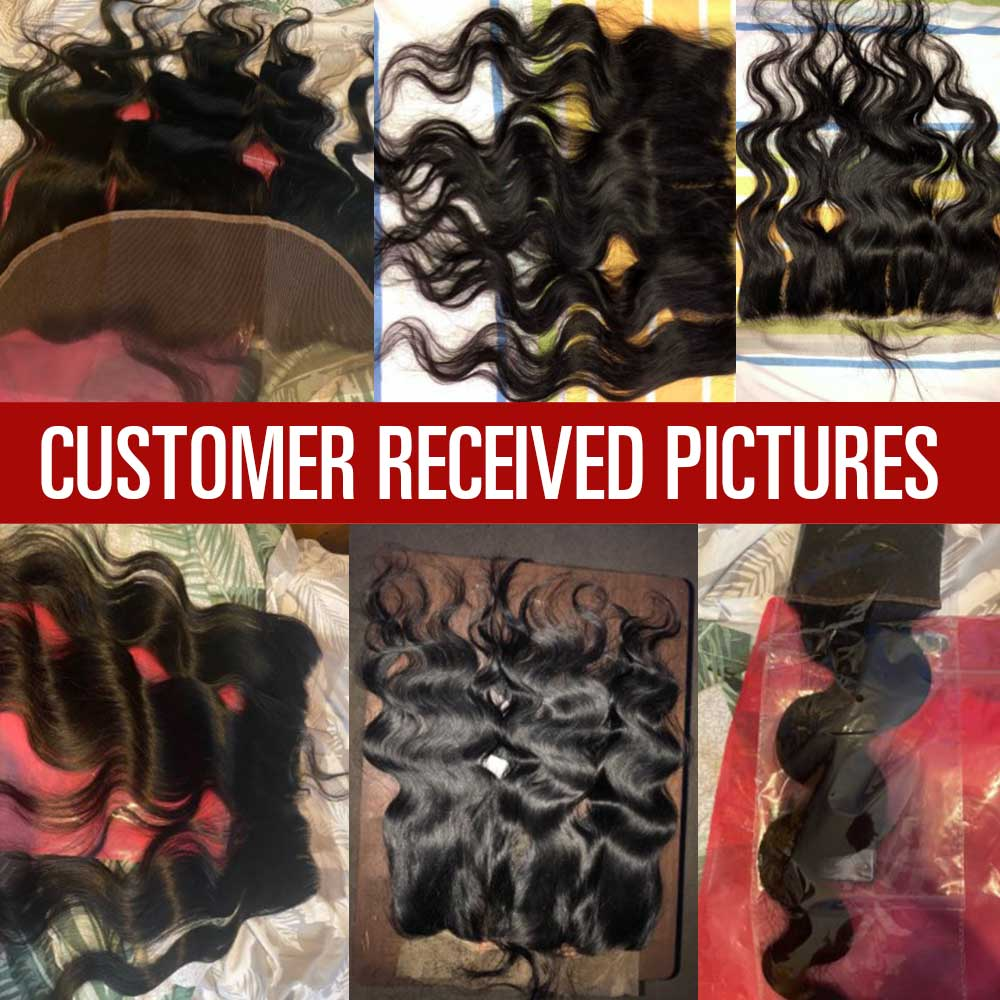 Body Wave 13x4 4x4 Lace Frontal  Closure with Baby Hair  Jet Black Natural Hairline Free Part Lace Closure 5