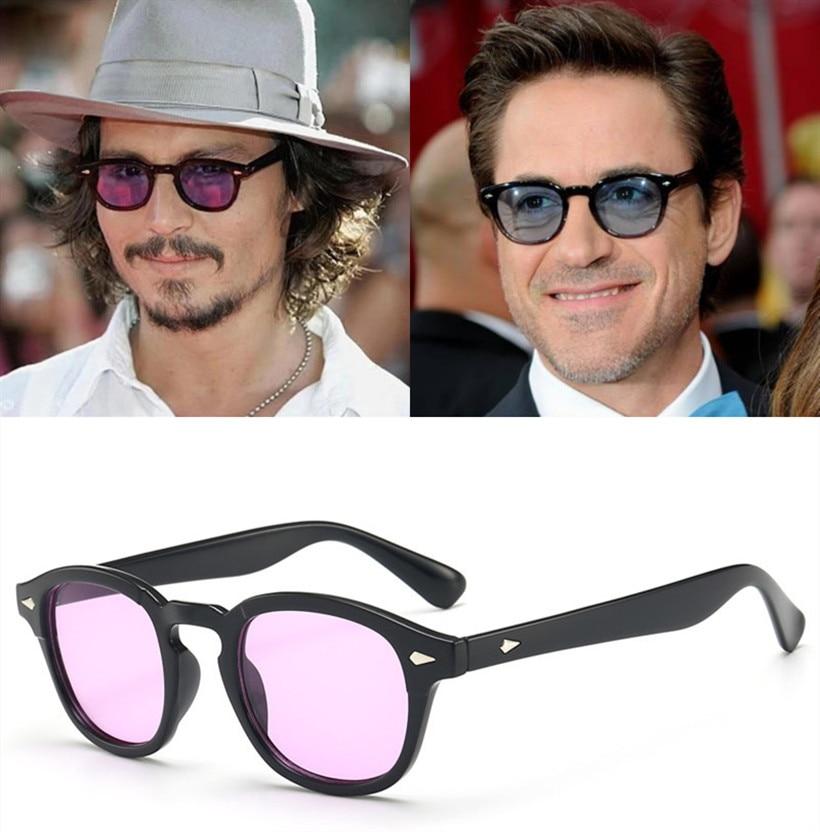 New-Fashion-Johnny-Depp-Lemtosh-Style-Round-Sunglasses-Tint-Ocean-Lens-Brand-Design-Party-Show-Sun