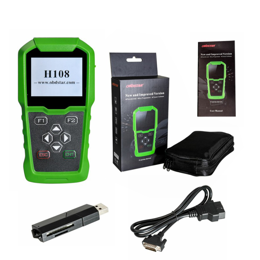 Image 5 - Original OBDSTAR H108 PSA Programmer Support All Key Lost/Pin Code Reading/Cluster Calibrate-in Auto Key Programmers from Automobiles & Motorcycles on