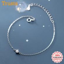 CZ Bracelet 925-Sterling-Silver Jewelry Wedding-Party Trustdavis Fine-S925 Fashion Women
