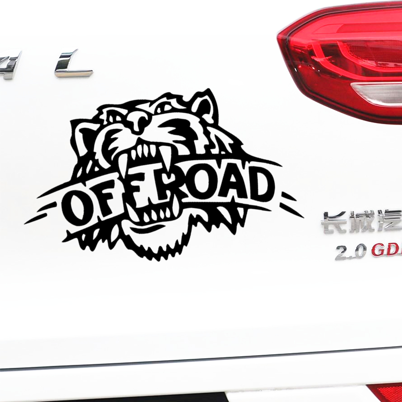Tigers <font><b>Off</b></font> <font><b>Road</b></font> <font><b>4x4</b></font> 4WD AWD Car <font><b>Stickers</b></font> Funny Creative Decoration Decals For SUV Jeep Vinyls Auto Tuning Styling D10 image