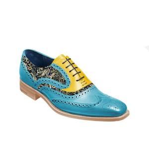 Мужская повседневная обувь из ПУ кожи, на шнуровке, классические весенние ботинки-броги, Классические повседневные ботинки, F174