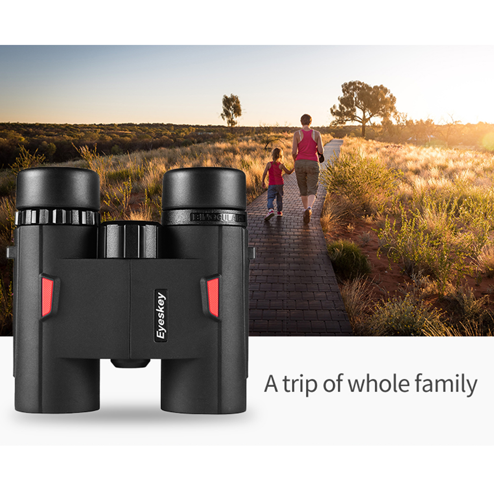 <font><b>8X32</b></font> HD <font><b>Binocular</b></font> Optics FieldView With Strap Durable Travel Bird Watching Night Vision Clear Waterproof Video Pocket Wide Angle image