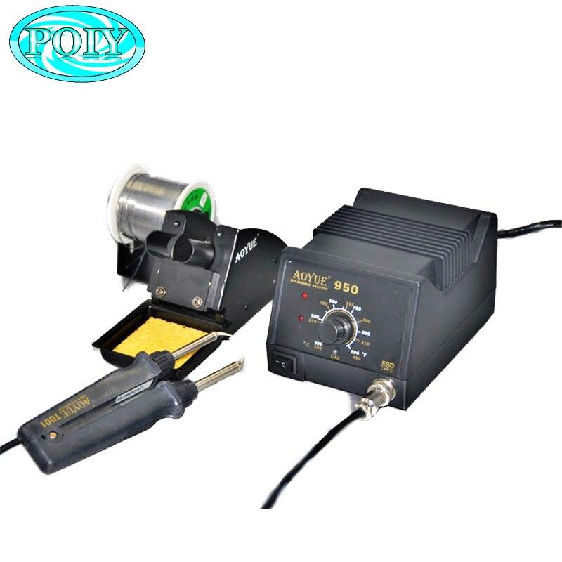 Горячая Распродажа, паяльная машина Aoyue 950220 В/110 в SMD, горячий пинцет, паяльная станция, сенсорный сварочный инструмент