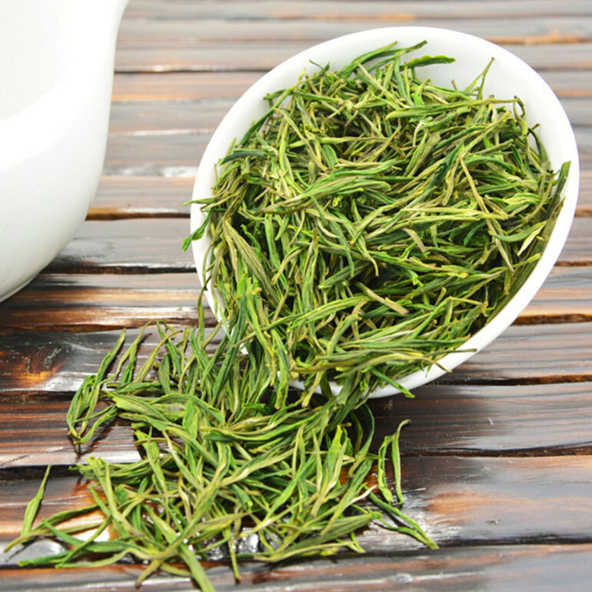 Premium!!!100g Chinese Organic White Tea Green Tea Super Anji Bai Cha