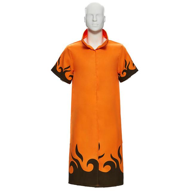 Naruto Minato Yondaime Hokage Uniform Cloak