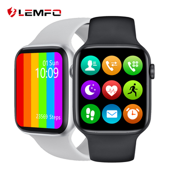LEMFO W26 1.75 Inch 320*385 HD Screen Smart Watch 2020 ECG Body Temperature Bluetooth Call IP68 Waterproof Men SmartWatch IWO 1
