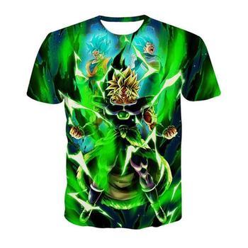 Dragon Ball Z 3D T Shirt Men Summer Top super son goku Funny T-Shirts anime vegeta DragonBall Tshirt