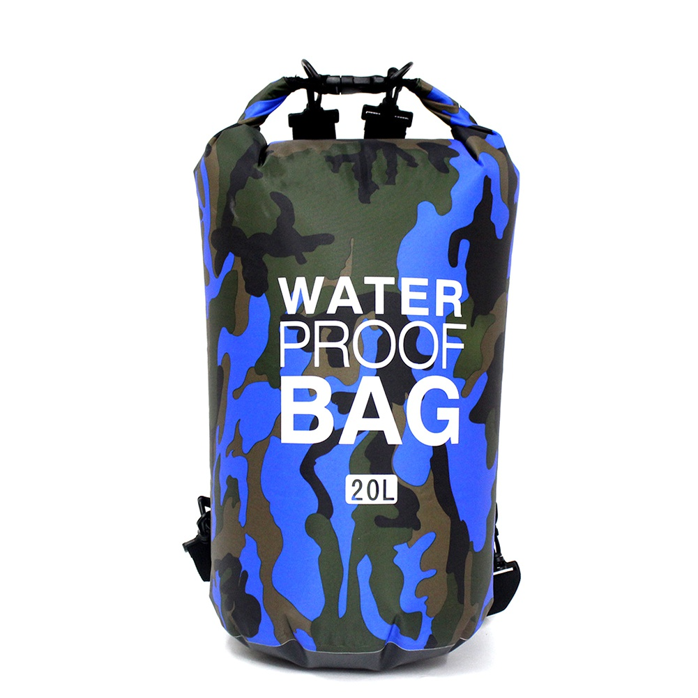 Bag - Outdoor 15L 20L 30L Ultralight Camping Dry Organizer Drifting Portable Durable Swimming Waterproof Bag