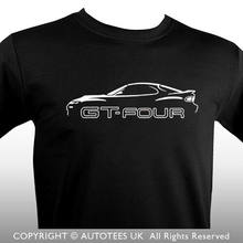 PREMIUM AUTOTEES T SHIRT FOR CELICA GT4 ST185 SPORTS CAR ENTHUSIASTS Long Sleeve Hoddies unisex hoddie short sleeve Tee Shirt Fr(China)