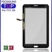 Écran tactile avant en verre pour Samsung Galaxy Tab 3, pour modèles sm-t110, sm-t111, sm-t113, sm-t116