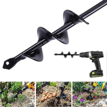 1PCS 5x45cm Earth Auger Hole Digger Tools Planting Machine Drill Bit Fence Borer Petrol Post Hole Digger Garden Tool maisy s digger