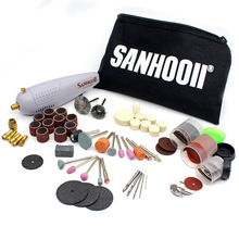 Power-Rotary-Tool-Set Polishing Grinding Mini Electric-Drill Engraving Woodworking Portable