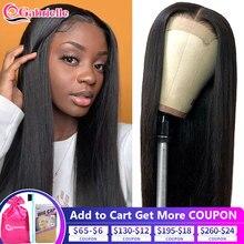 perruque lisse lace frontal pour les femmes longue cheveux humain brésilienne 30 pouces perruque lace closure 4x4 5x5 6x6 cheveux humain couleur naturelle