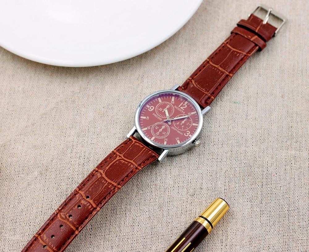 Six Pin Watch Beautiful Men Fashion Watches Quartz 2021