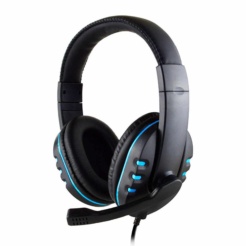 新 3.5 ミリメートルプラグゲーミングヘッドフォン音声制御有線ハイファイ音質 PS4 ブラック 3.5 ミリメートルプラグゲーミングヘッドセット