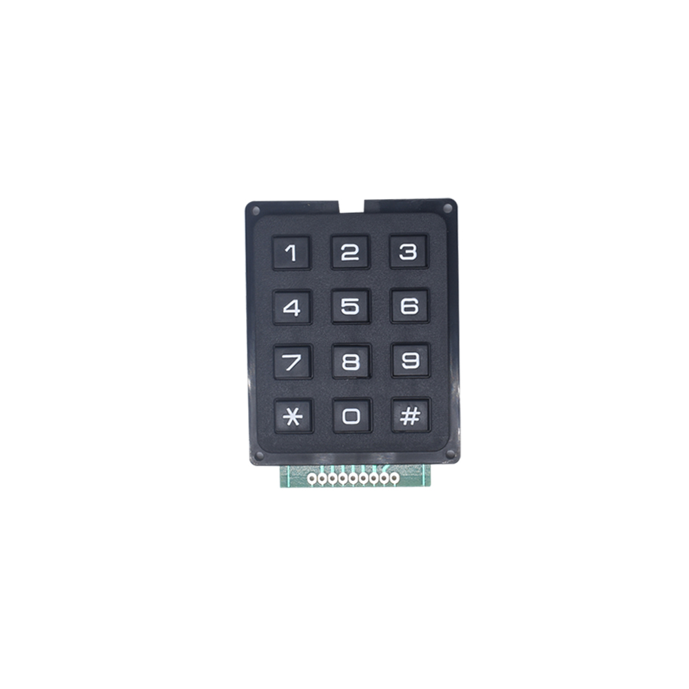 12 16 Key  4*4 4*3 Membrane Switch Keypad 4 x 4 4 x 3  Matrix Array Matrix keyboard membrane switch keypad for arduino