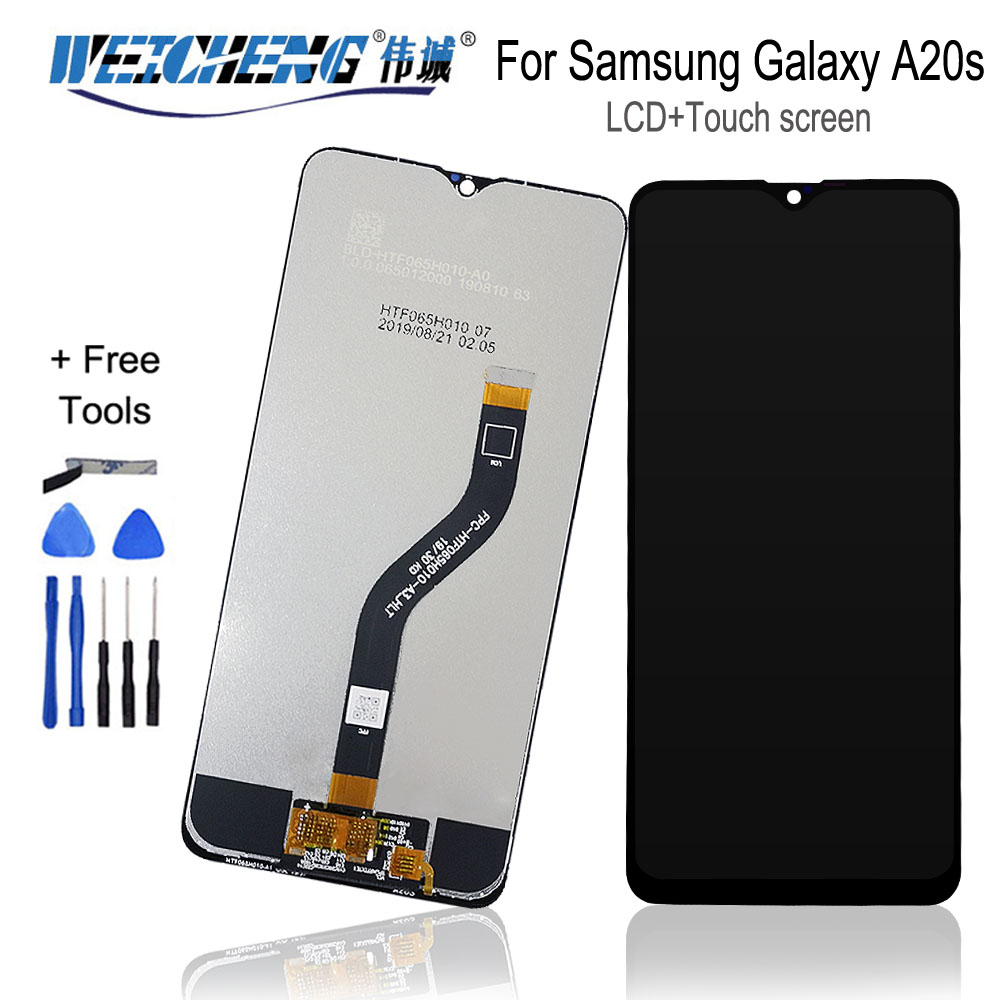 For <font><b>Samsung</b></font> <font><b>galaxy</b></font> <font><b>A20s</b></font> <font><b>lcd</b></font> Digitizer Display Touch <font><b>Screen</b></font> Digitizer For <font><b>Samsung</b></font> A207F/DS A207FN A207U A207G A207W A207G/DS <font><b>lcd</b></font> image