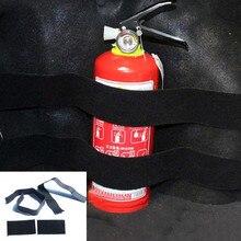 2шт Автомобильный багажник хранения содержание сумка Быстрый Огнетушитель держатель ремень безопасности комплект сумка для хранения в багажник автомобиля кронштейн