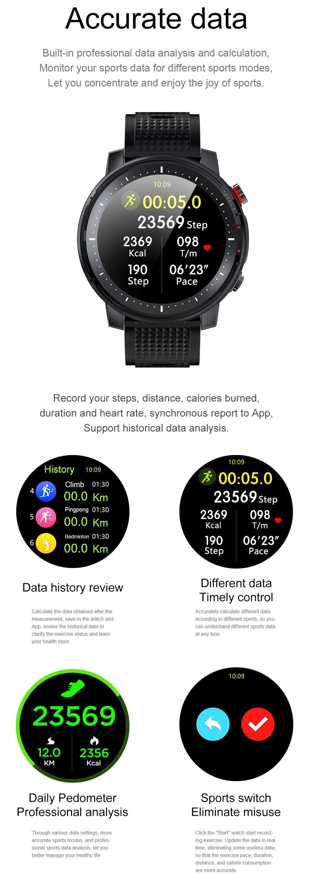 H8eb113ca95f5475b94aba7d878ee8f768 Timewolf Reloj Inteligente Smart Watch Men 2021 IP68 Waterproof Android Smartwatch Smart Watch for Men Women Android Phone IOS