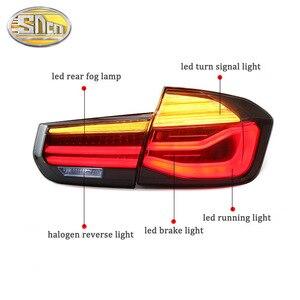 Image 2 - Car Styling Tatilights for BMW F35 F30 318i 2013 2017 LED Tail Light LED Rear Fog Lamp DRL + Brake + Reverse + Turn Signal Lamp